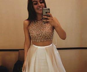 evening dress, party dress, and satin image