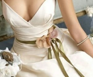 beautiful, elegant, and gown image
