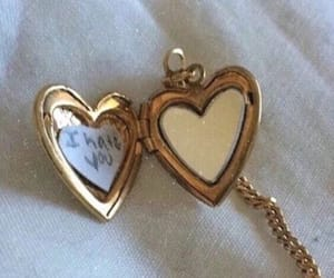 heart, theme, and gold image
