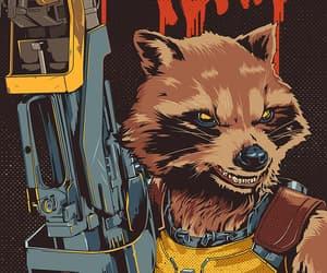 article, rocket, and rocket raccoon image