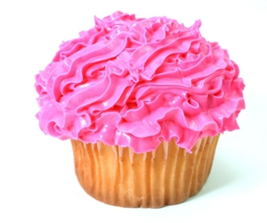 cupcake, cupcakes, and pink image