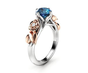 etsy, unique ring, and engagementring image