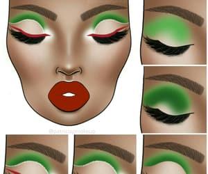 artwork, drawing, and green image