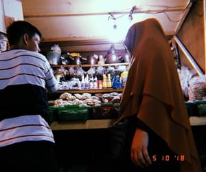 jakarta, huji cam, and market image