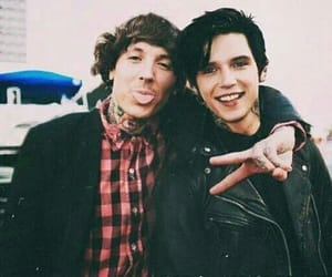 oliver sykes, andy biersack, and bmth kép