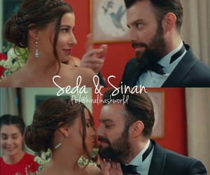 couple, wedding, and turkish series image