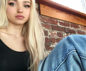 blonde and dove cameron image