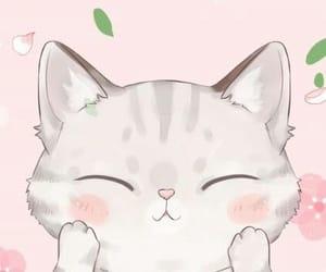 phone wallpaper, cat wallpaper, and cute image