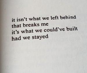 broken, gone, and heart break image
