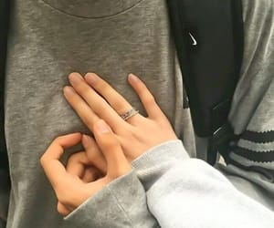 love, couple, and Relationship image