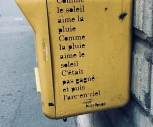 french, mailbox, and quote image