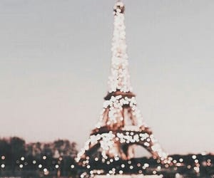 city, travel, and eiffel+tower image