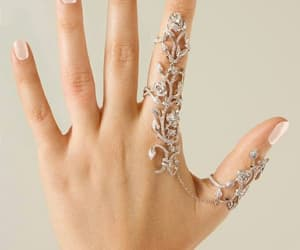 ring, jewelry, and nails image