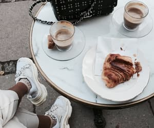 food, coffee, and cafe image