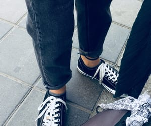 bandana, converse, and cool image