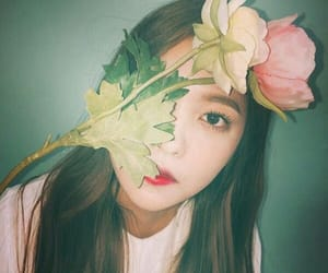 aesthetic, yerim, and flower image