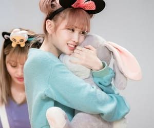 bunny, momo, and fan sign image