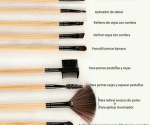 Brushes and maquillaje image