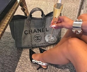 accessories, chanel, and drink image