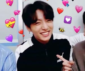 jk, bts, and reaction pic image