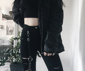 aesthetic, goth, and gothic image
