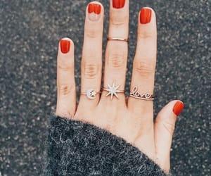 beauty, nail art, and glam image