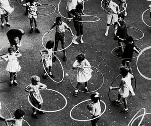 kids, vintage, and black and white image