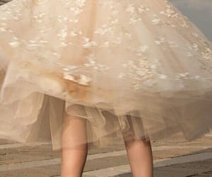 beige, lace, and dress image
