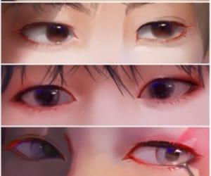eyes and taehyung image