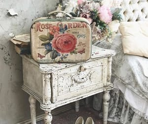 antique, bedroom, and home image