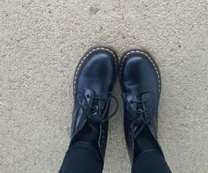 girl, shoes, and docmartens image