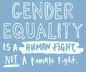 feminism, girl, and equality image