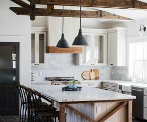 farmhouse, kitchen, and kitchen design image
