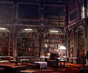book, library, and Dream image