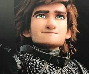 animation, dreamworks, and hiccup image