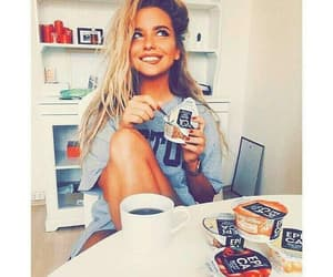 coffee, food, and girl image