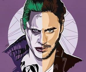 art, purple, and design image