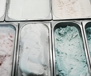 ice cream, food, and pastel image