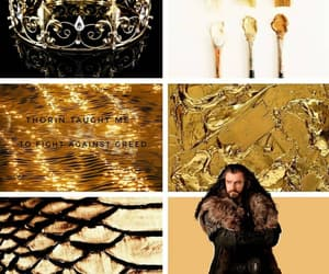 aesthetic, battle of five armies, and thorin oakenshield image