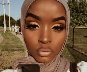 black, girl, and brown image