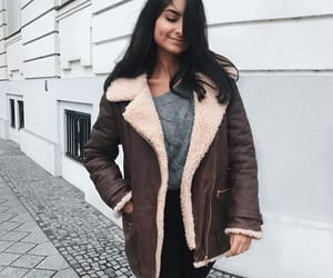 fashion, winter outfit, and casual outfit image
