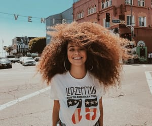 girl, fashion, and curls image