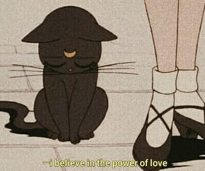 anime, cat, and quote image