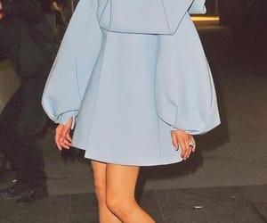 zendaya, fashion, and blue image