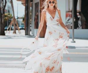 fashion, pink, and pretty dress image