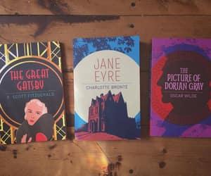 books, charlotte bronte, and f scott fitzgerald image