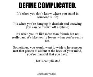 complicated and quotes image