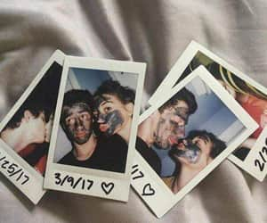 couple, polaroid, and Relationship image