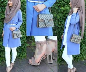 fashion, inspiration, and hijab image