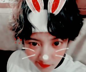 exo, chanyeol, and gif image